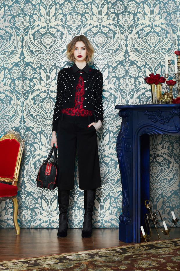 Alice + Olivia Fall-Winter 2013 Lookbook 1