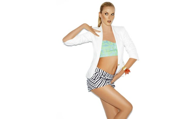Anne Vyalitsyna in Blanco Spring 2013 Campaign 10