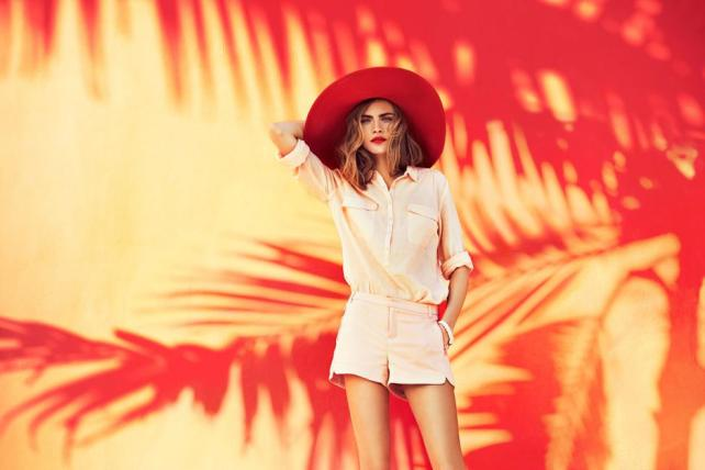 Cara Delevingne in Reserved SS 2013 Campaign 11