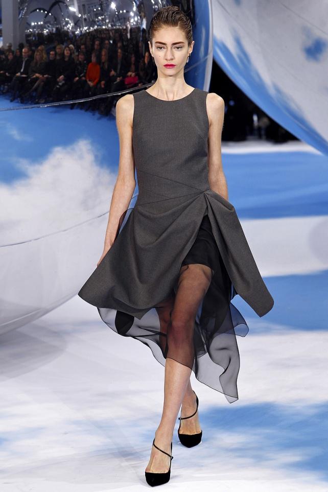Christian Dior Fall 2013 40 (Marine Deleeuw)