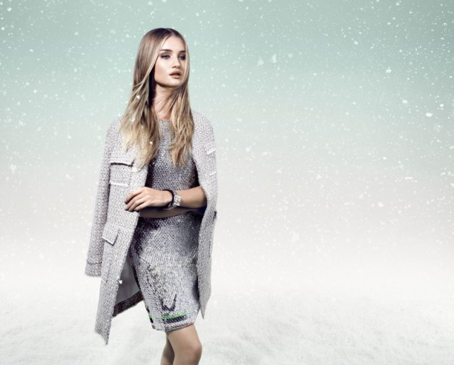 Rosie Huntington-Whiteley in Animale Winter 2013 Campaign 7