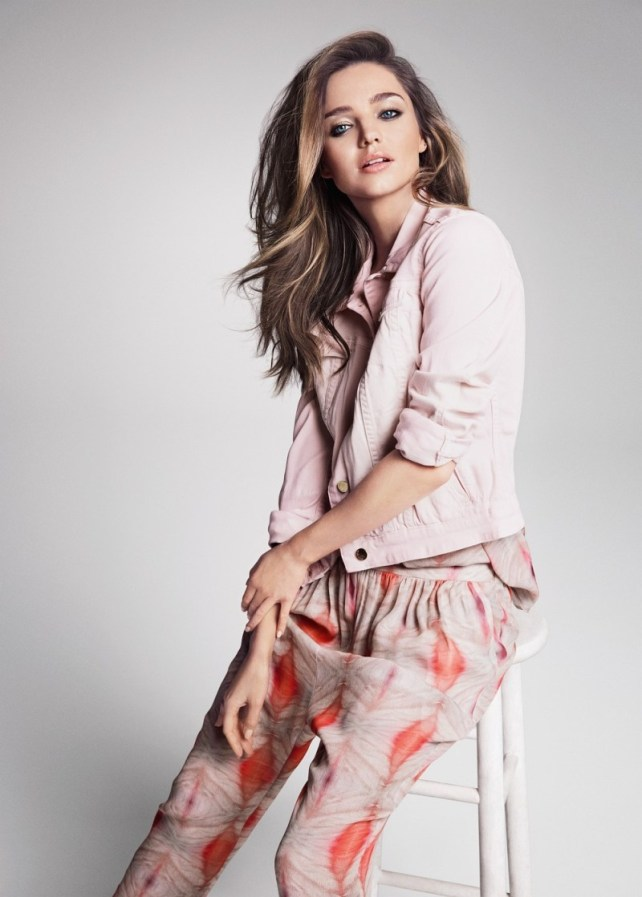 Miranda Kerr in Mango SS 2013 Campaign 2