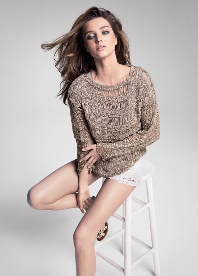 Miranda Kerr in Mango SS 2013 Campaign 7
